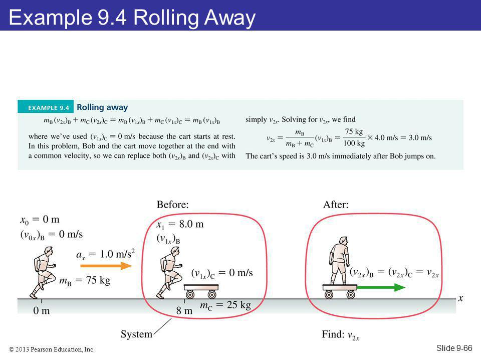Example 9.4 Rolling Away Slide 9-66