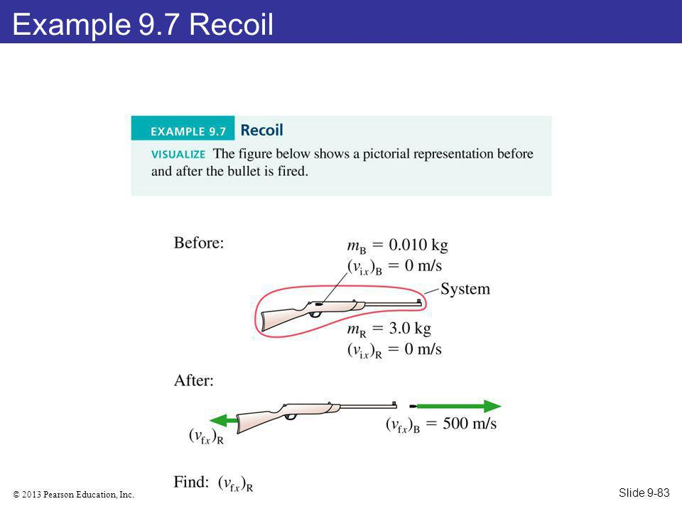 Example 9.7 Recoil Slide 9-83
