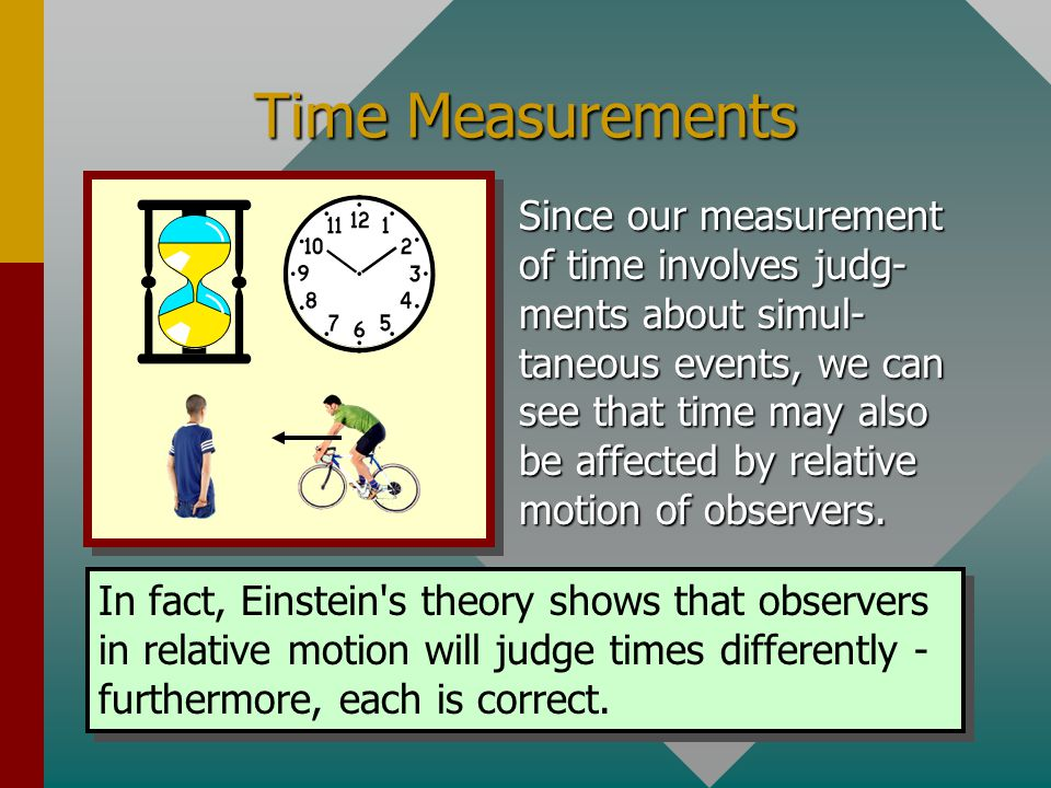 Time Measurements
