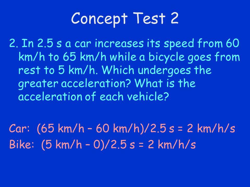 Concept Test 2
