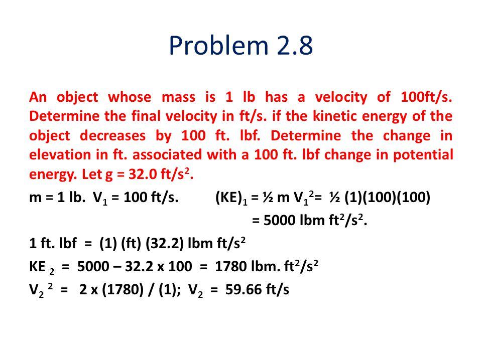 Problem 2.8