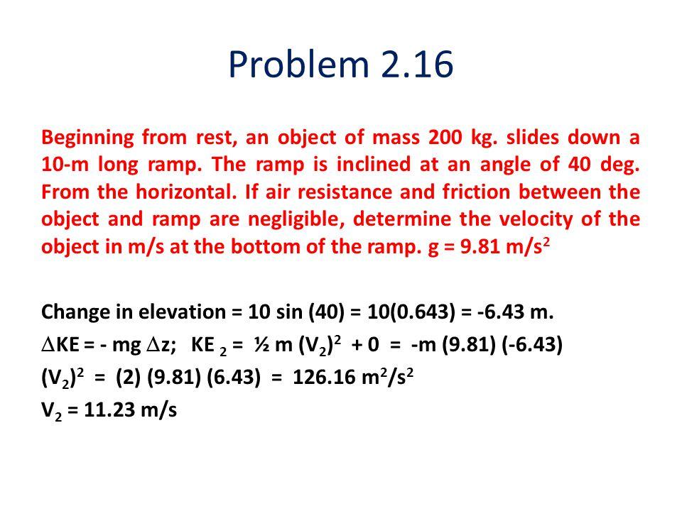 Problem 2.16