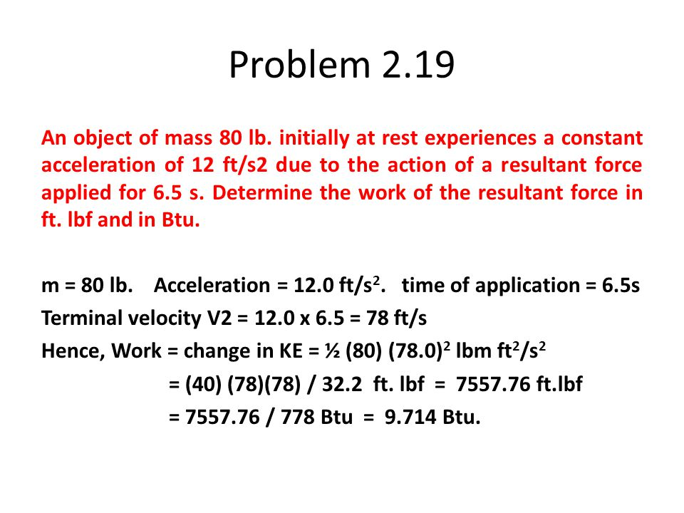 Problem 2.19