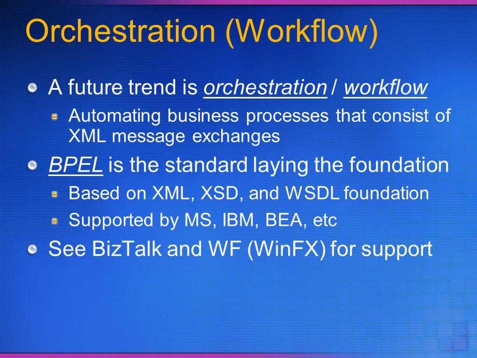 Orchestration (Workflow)