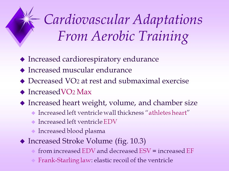 cardiorespiratory training Comparison of the effect of upper body-ergometry aerobic training vs treadmill training on central cardiorespiratory improvement and walking distance in.