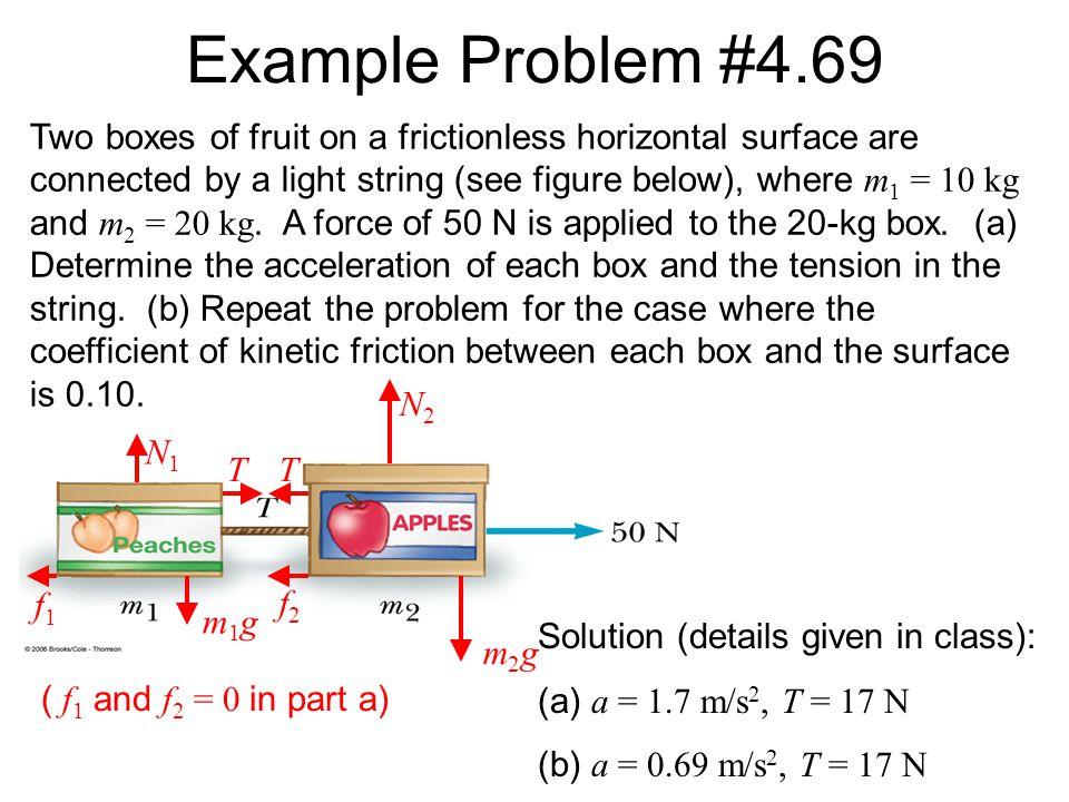 Example Problem #4.69