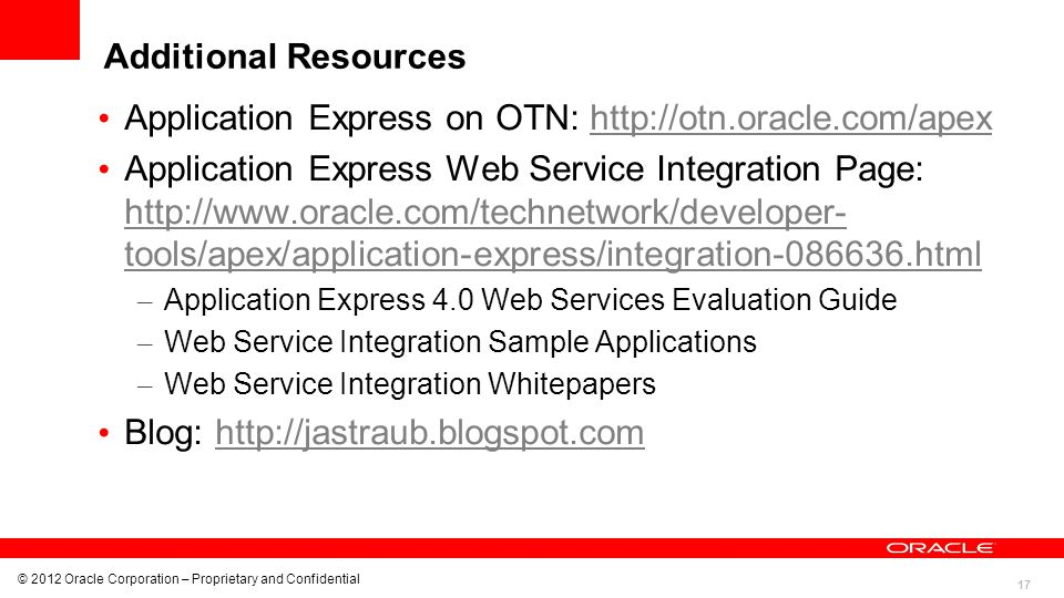 Application Express on OTN: http://otn.oracle.com/apex
