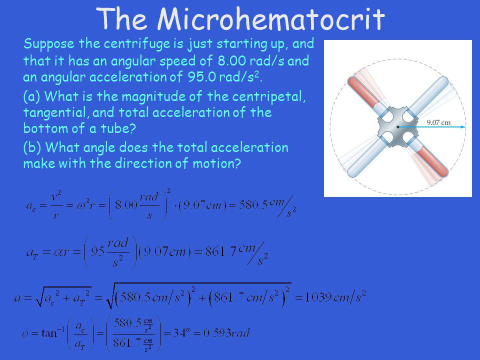 The Microhematocrit