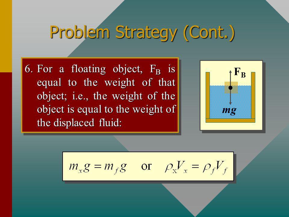 Problem Strategy (Cont.)