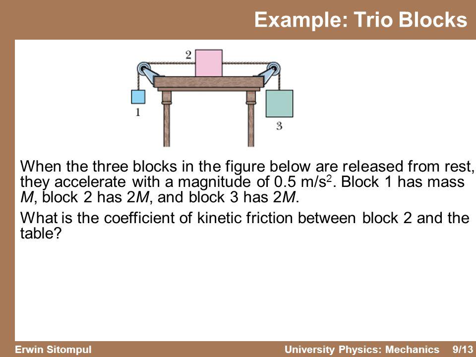 Example: Trio Blocks