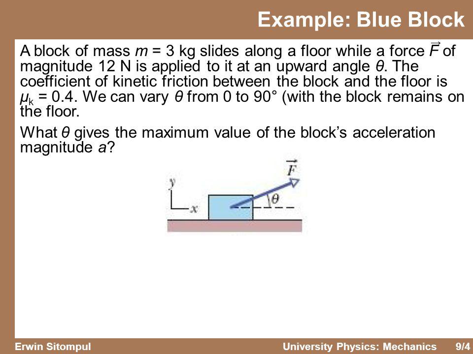 Example: Blue Block →