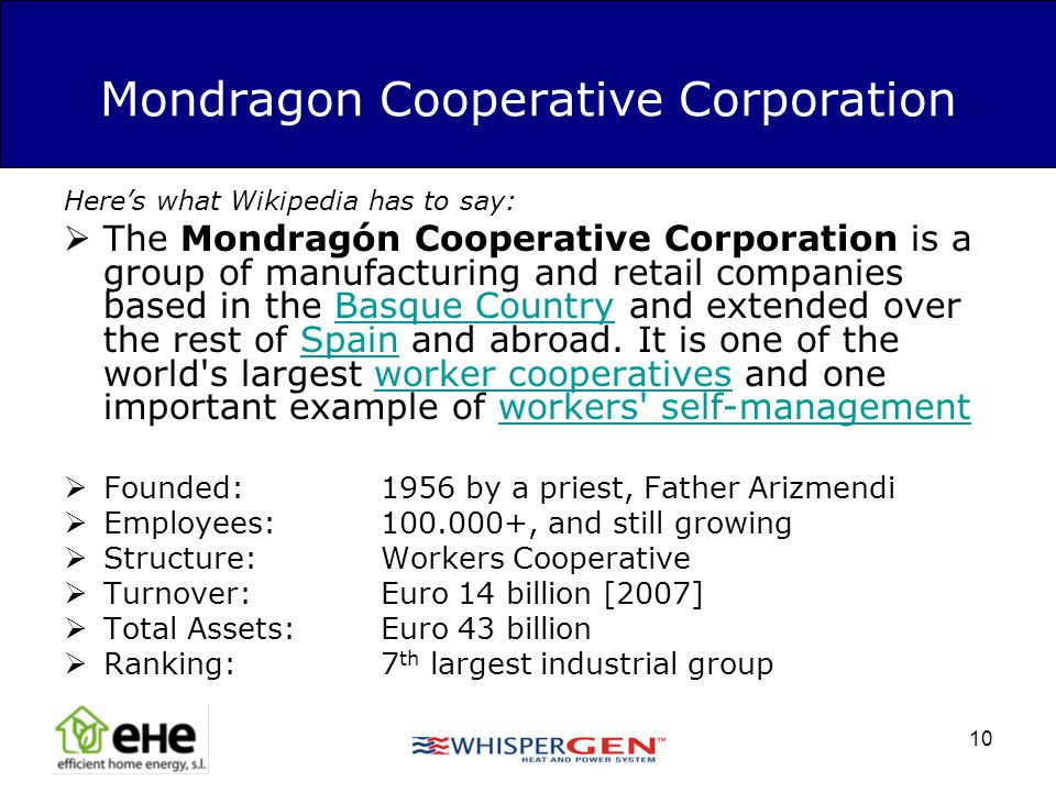 Mondragon Cooperative Corporation