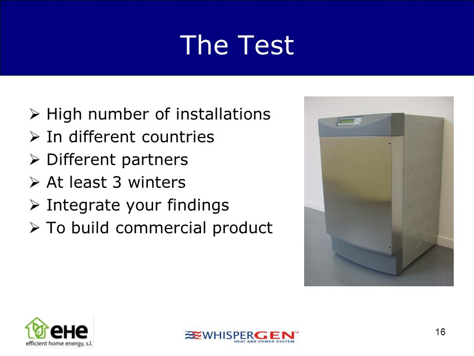 The Test High number of installations In different countries