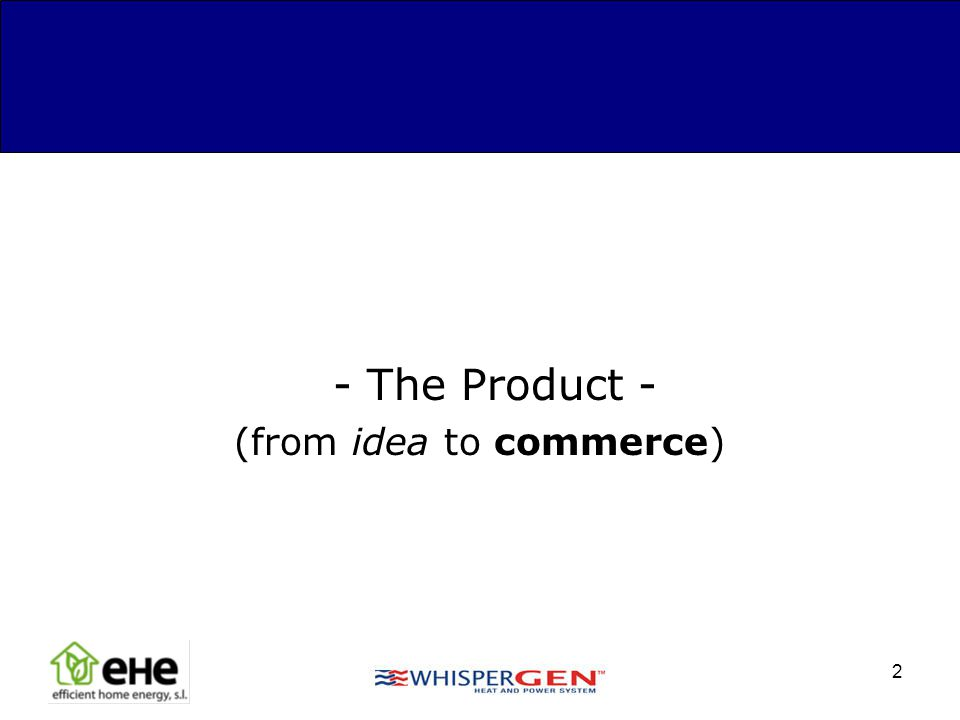 (from idea to commerce)