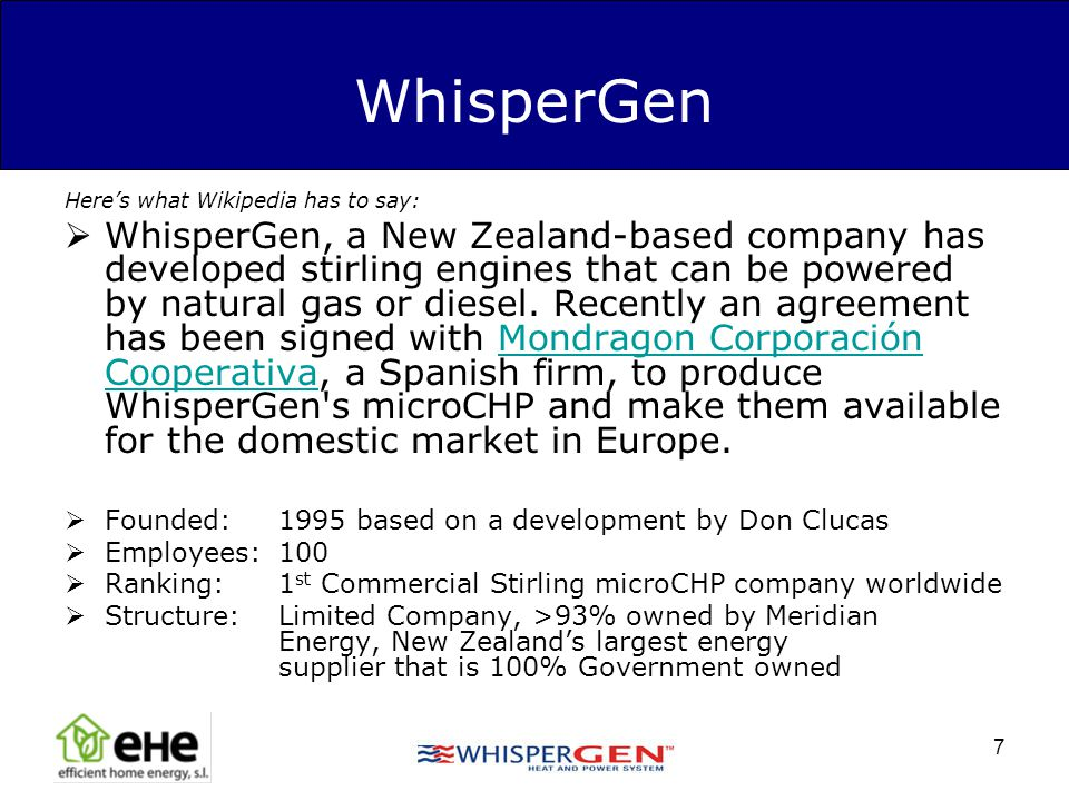 WhisperGen Here's what Wikipedia has to say: