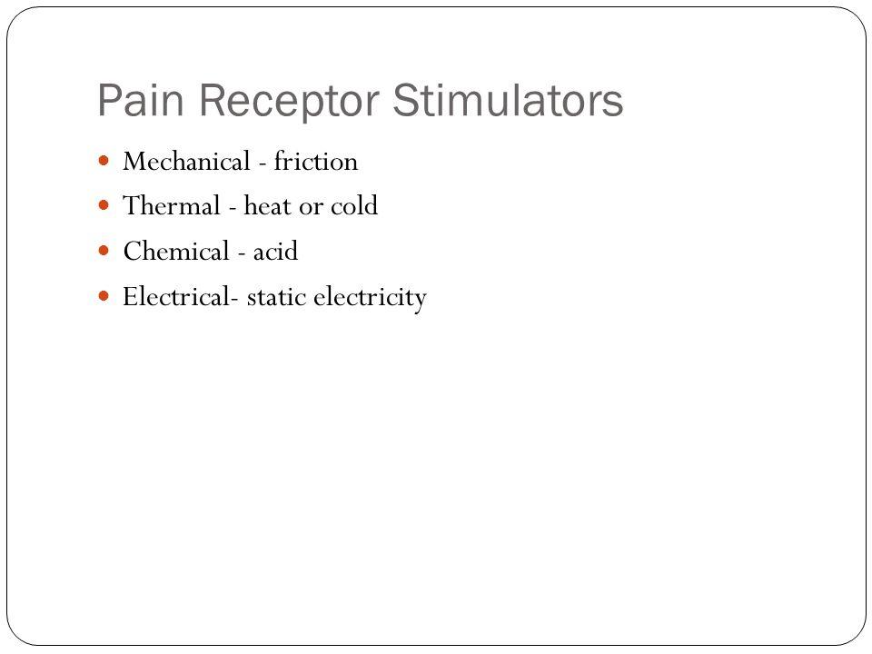 Pain Receptor Stimulators