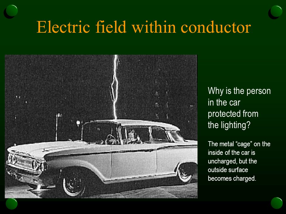 Electric field within conductor