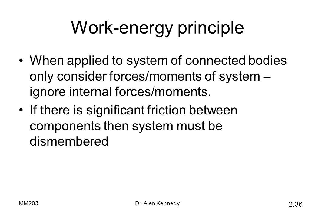 Work-energy principle