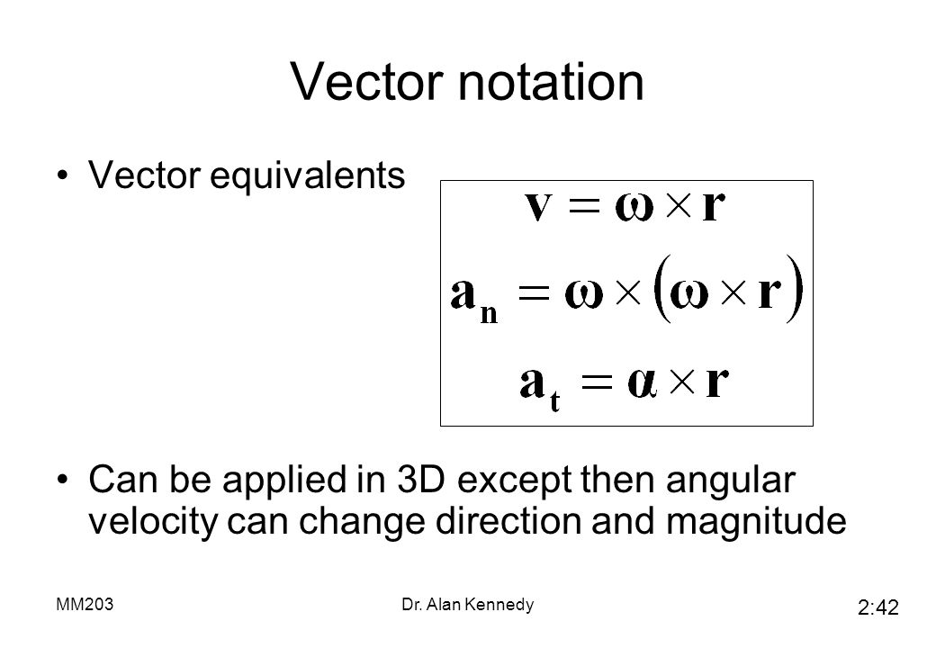 vector notation Vector notation, this page gives an overview of the commonly used mathematical notation when working with mathematical vectors, which may be geometric vectors or abstract members of vector spaces.