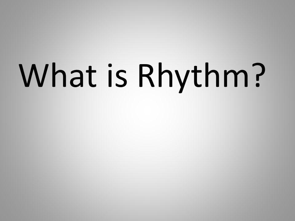 What is Rhythm