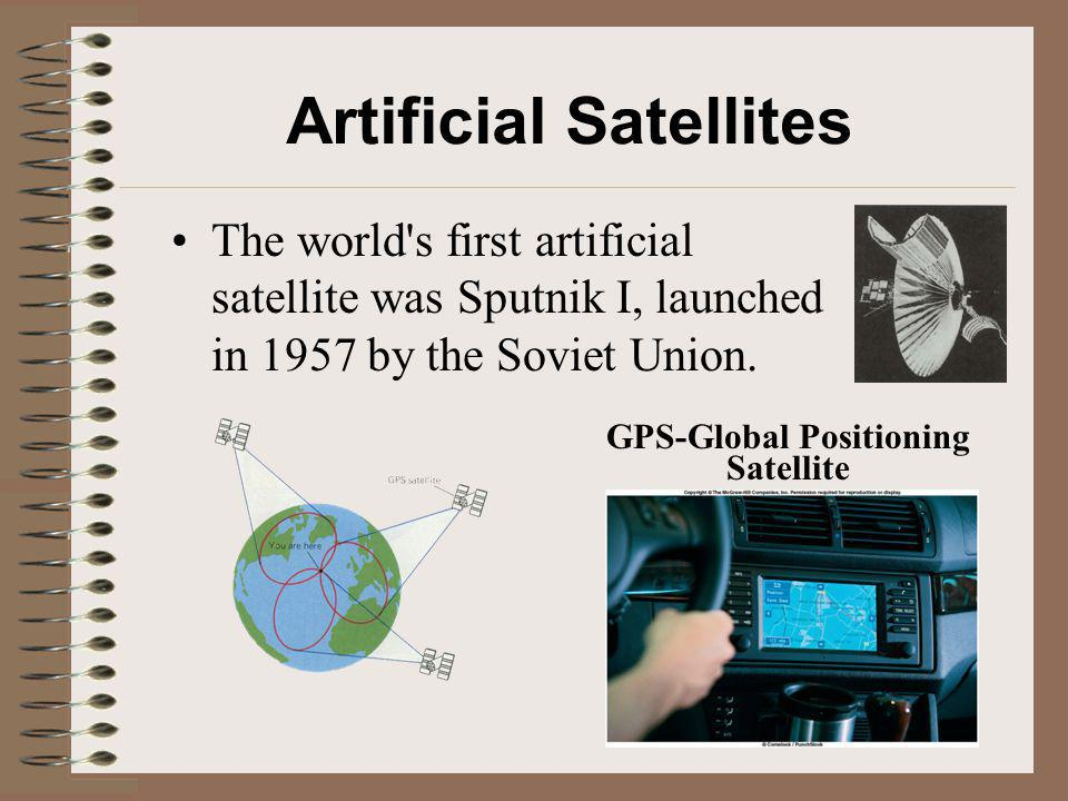 Artificial Satellites GPS-Global Positioning Satellite