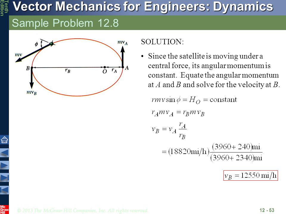 Sample Problem 12.8 SOLUTION: