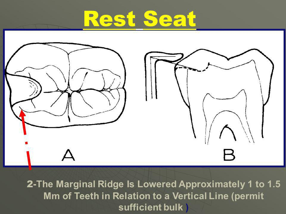 Rest Seat 1mm.