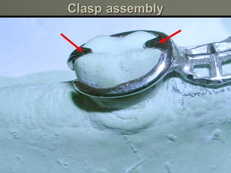 Clasp assembly