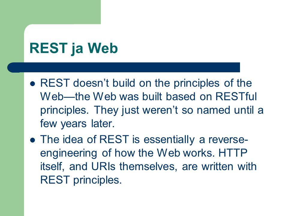 REST ja Web