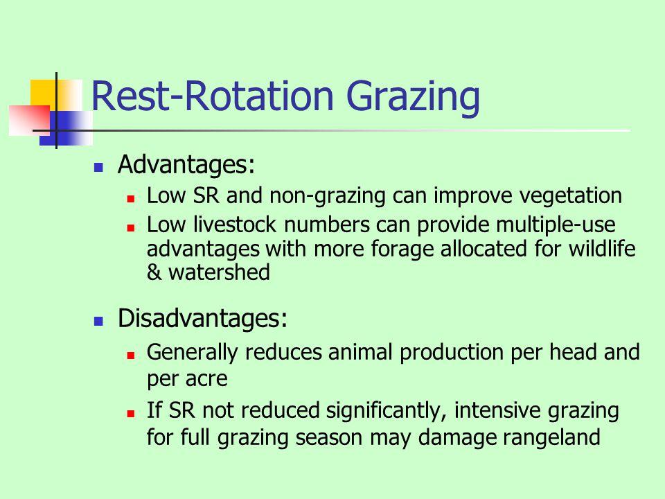 Rest-Rotation Grazing