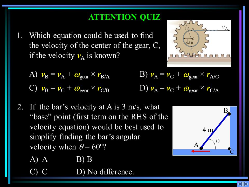 1. Which equation could be used to find