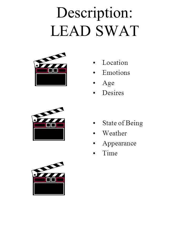 Description: LEAD SWAT