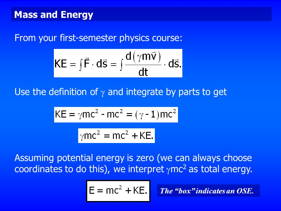 From your first-semester physics course: