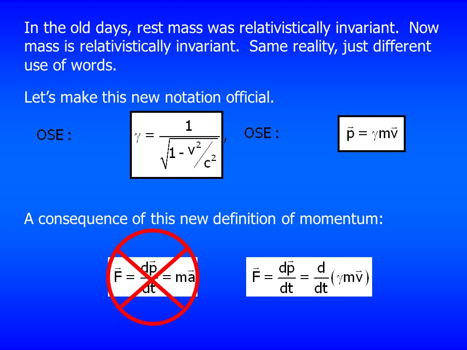 In the old days, rest mass was relativistically invariant