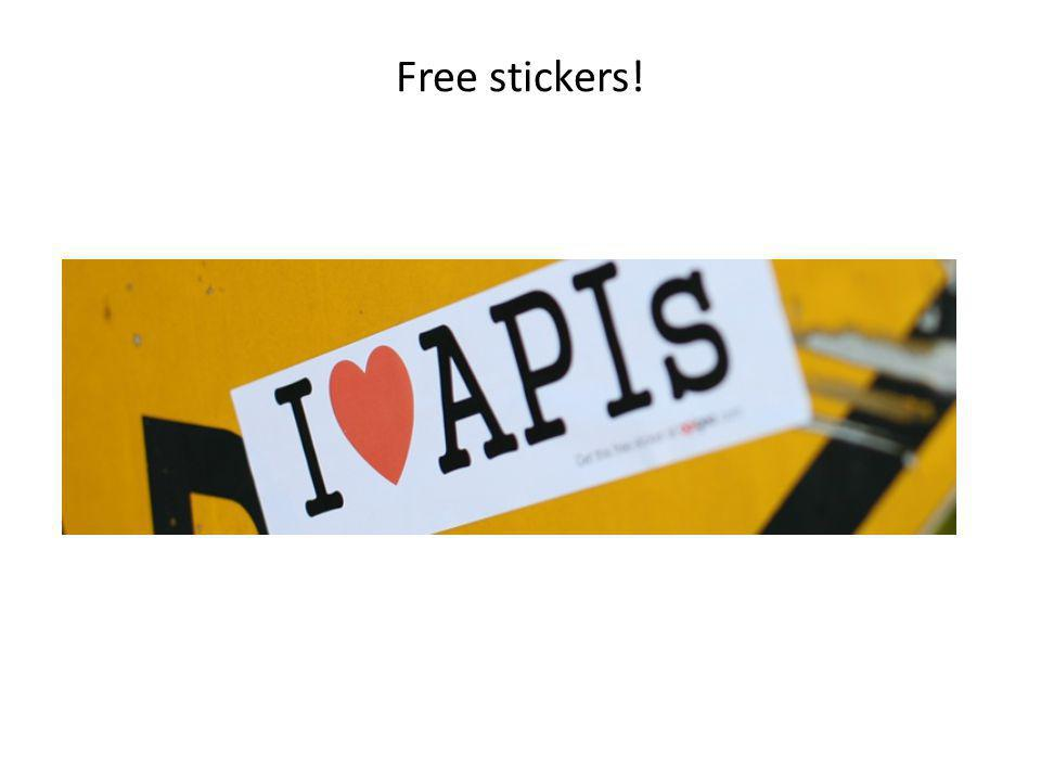 Free stickers! 29