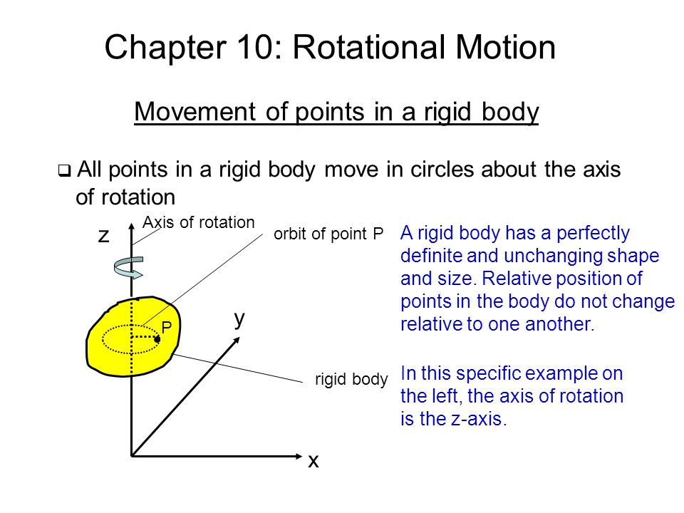 Chapter 10: Rotational Motion