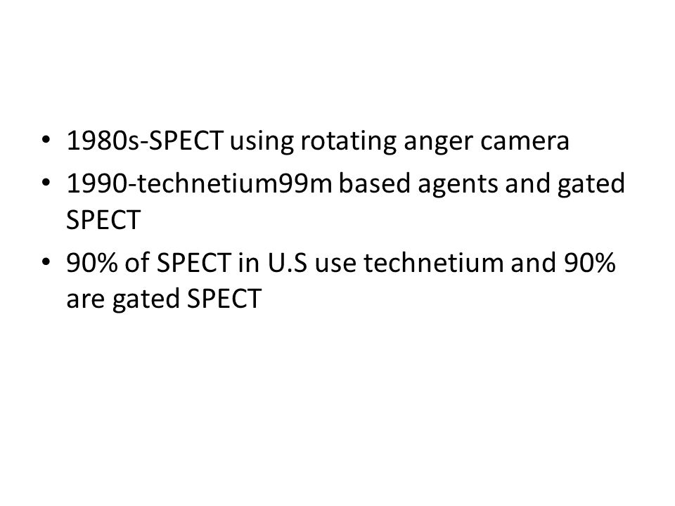 1980s-SPECT using rotating anger camera