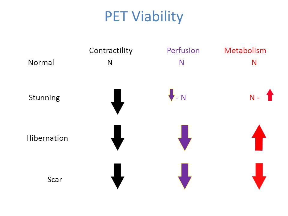PET Viability Scan Patterns