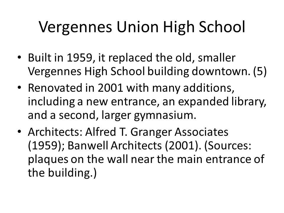 Vergennes Union High School