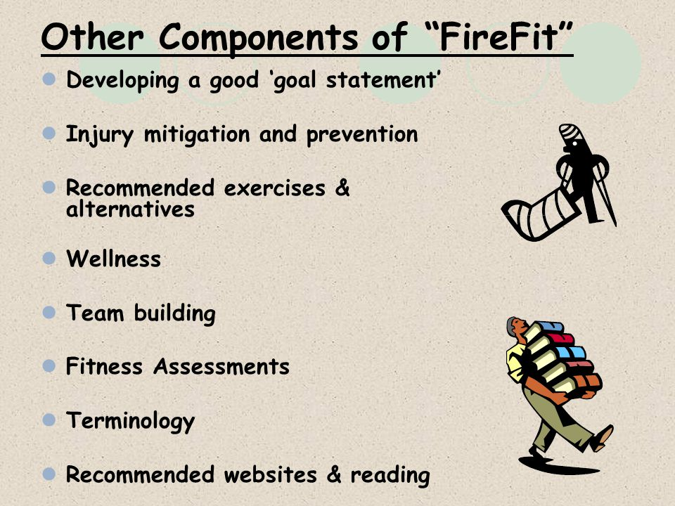 Other Components of FireFit
