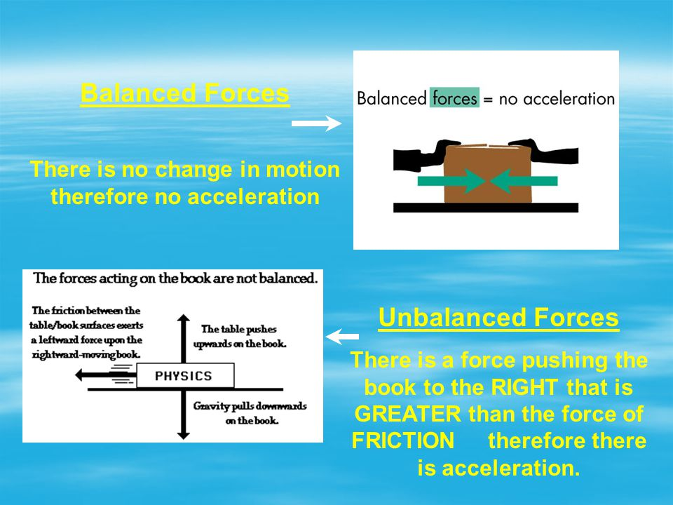 There is no change in motion therefore no acceleration