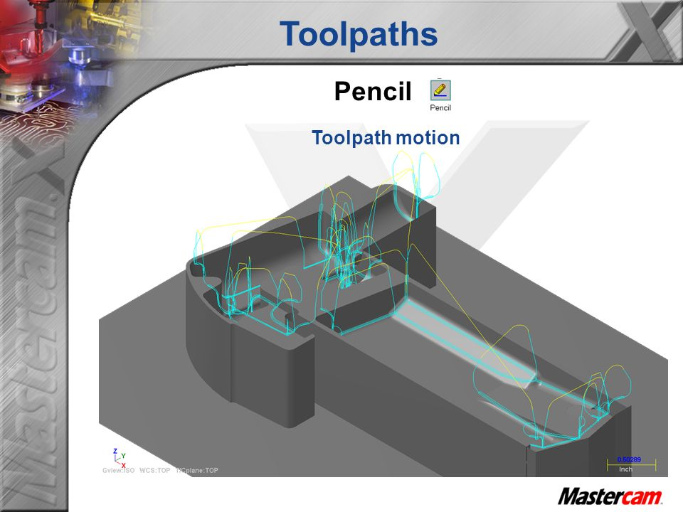 Toolpaths Pencil Toolpath motion
