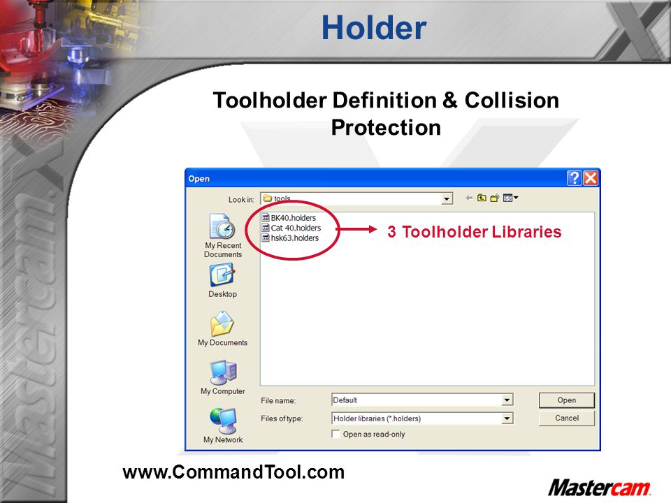 Toolholder Definition & Collision Protection