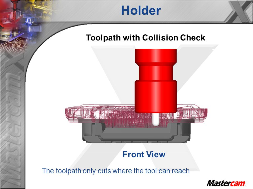 Toolpath with Collision Check