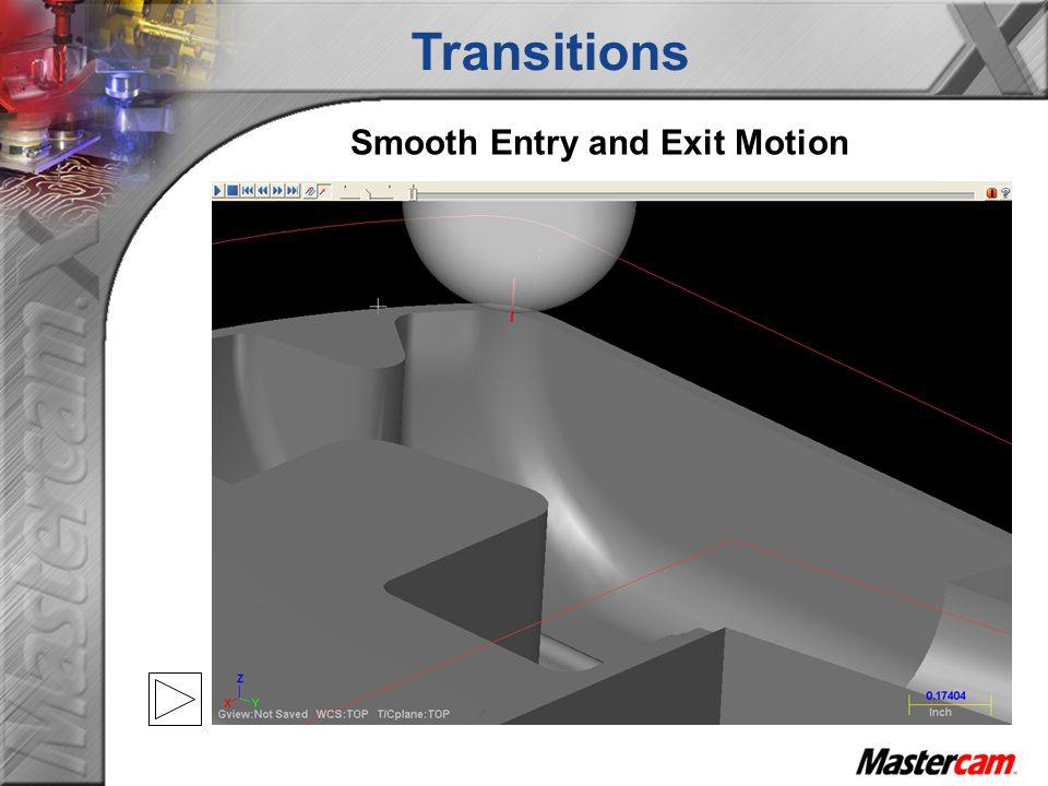 Smooth Entry and Exit Motion