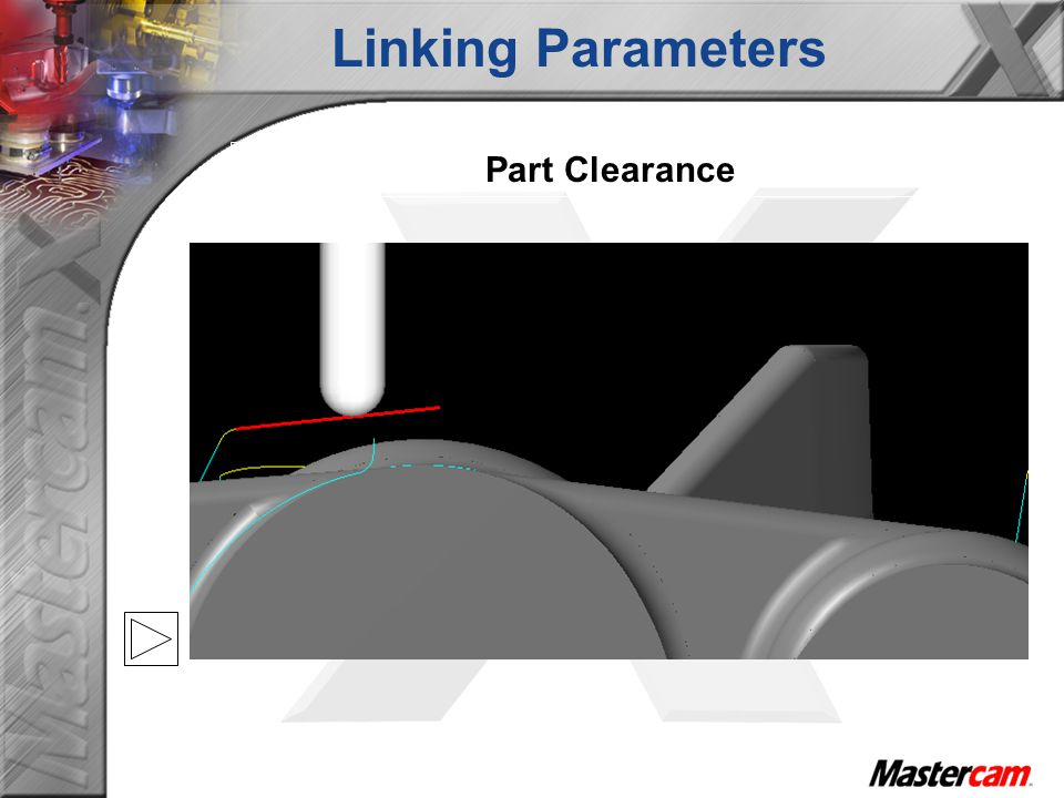 Linking Parameters Part Clearance