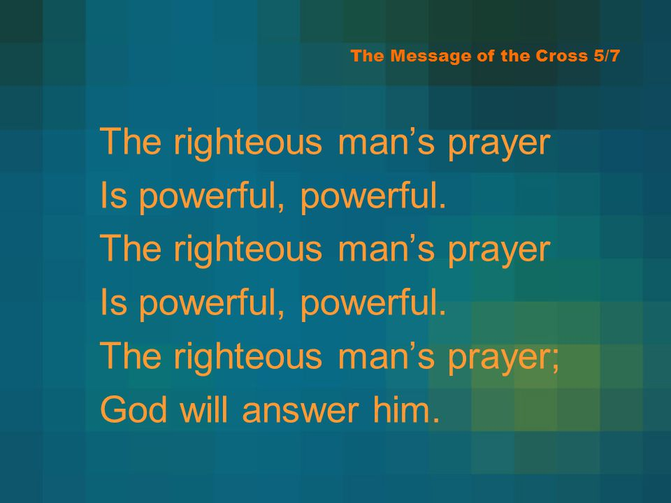 The Message of the Cross 5/7