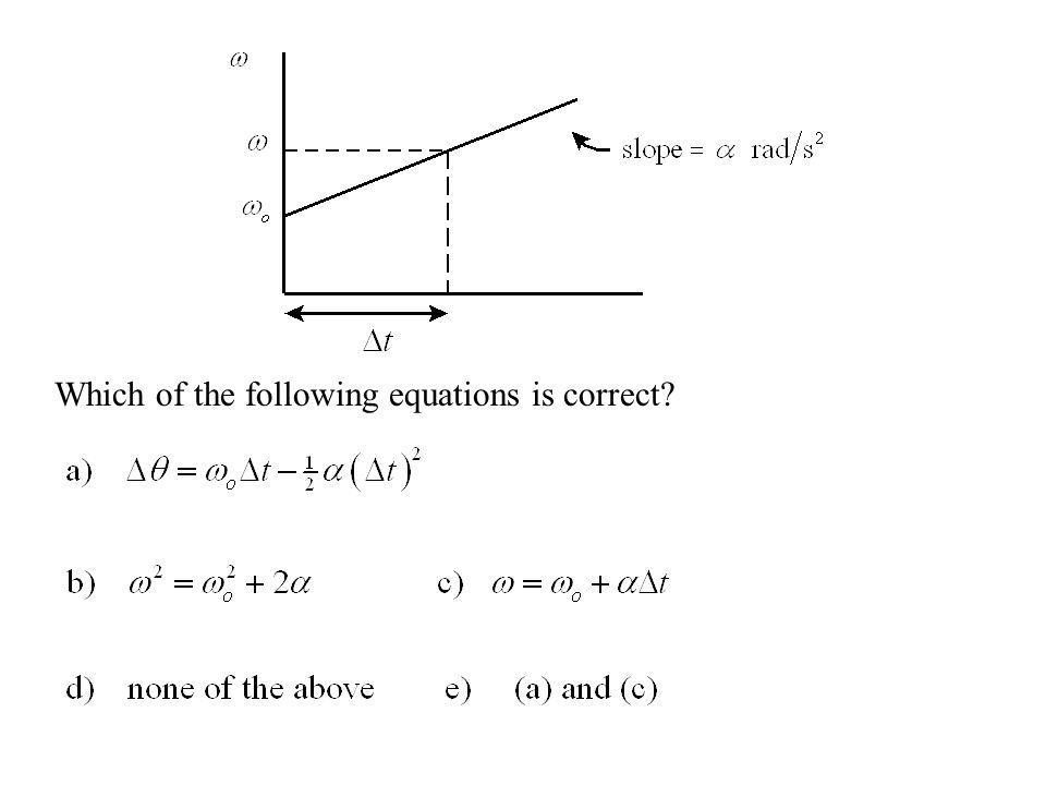 Which of the following equations is correct