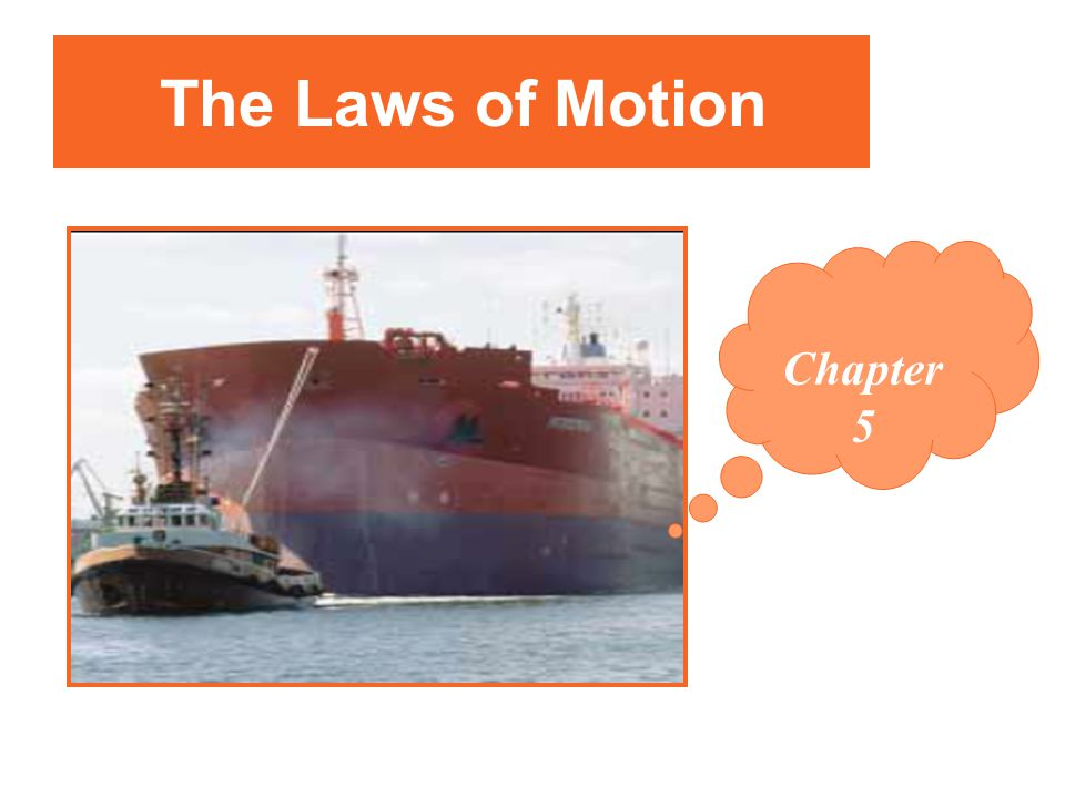 The Laws of Motion Chapter 5