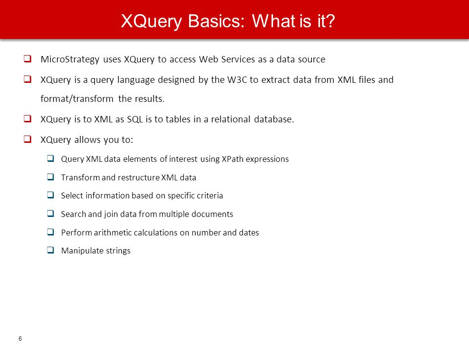 XQuery Basics: What is it